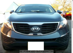 Used 2012 KIA SPORTAGE BH687780 for Sale