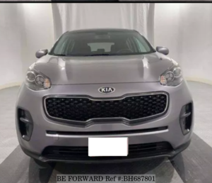 Used 2017 KIA SPORTAGE BH687801 for Sale