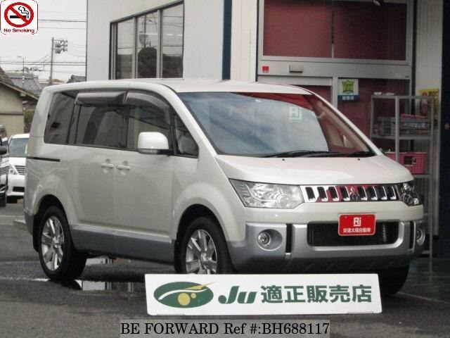 Used 2015 MITSUBISHI DELICA D5 BH688117 for Sale