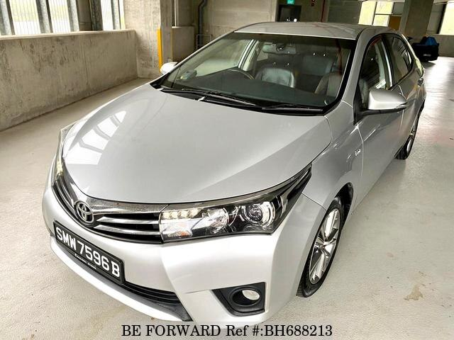 Used 2015 TOYOTA COROLLA ALTIS BH688213 for Sale