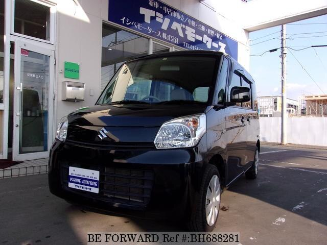 Used 2013 SUZUKI SPACIA BH688281 for Sale