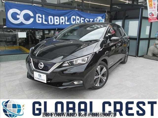 Used 2018 NISSAN LEAF BH690072 for Sale