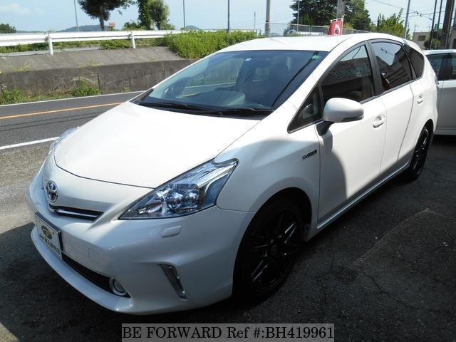 Used 2011 TOYOTA PRIUS ALPHA BH419961 for Sale