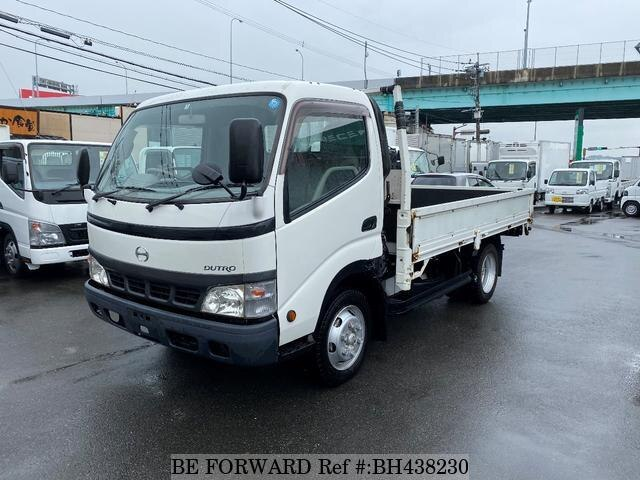 Used 2003 HINO DUTRO BH438230 for Sale