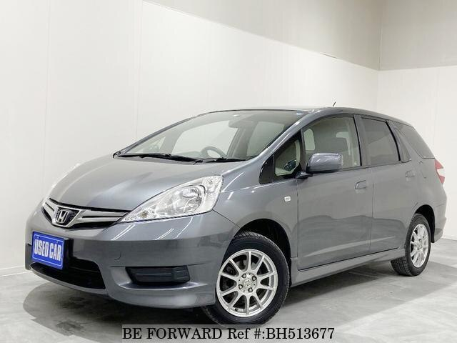 Used 2011 HONDA FIT SHUTTLE BH513677 for Sale