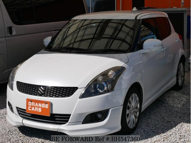 Used 2013 SUZUKI SWIFT BH547360 for Sale