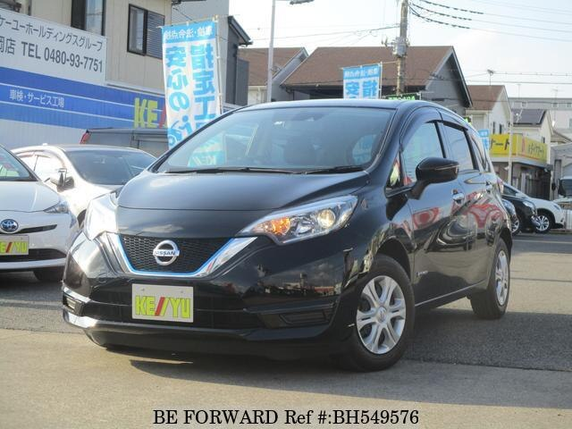 Used 2017 NISSAN NOTE BH549576 for Sale