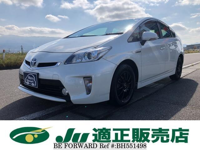 Used 2014 TOYOTA PRIUS BH551498 for Sale