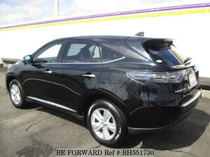 Used 2015 TOYOTA HARRIER BH551730 for Sale
