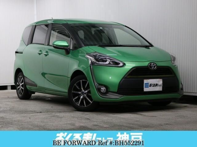 Used 2015 TOYOTA SIENTA BH552291 for Sale