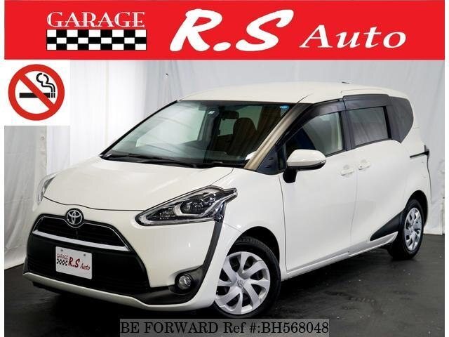 Used 2015 TOYOTA SIENTA BH568048 for Sale