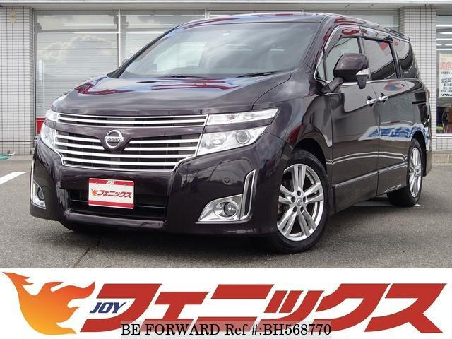 Used 2010 NISSAN ELGRAND BH568770 for Sale