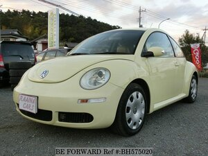 Used 2007 VOLKSWAGEN NEW BEETLE BH575020 for Sale