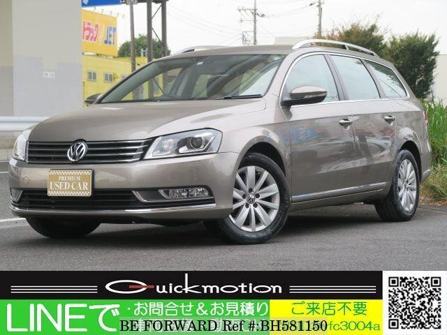 Used 2012 VOLKSWAGEN PASSAT VARIANT BH581150 for Sale
