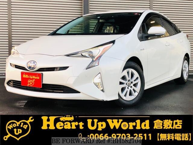Used 2017 TOYOTA PRIUS BH582704 for Sale