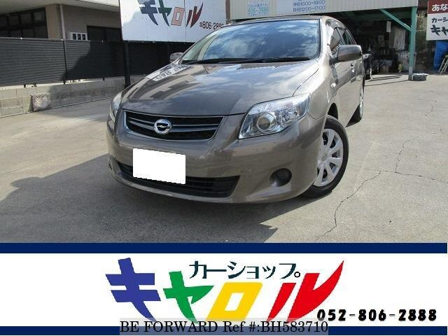 Used 2012 TOYOTA COROLLA FIELDER BH583710 for Sale