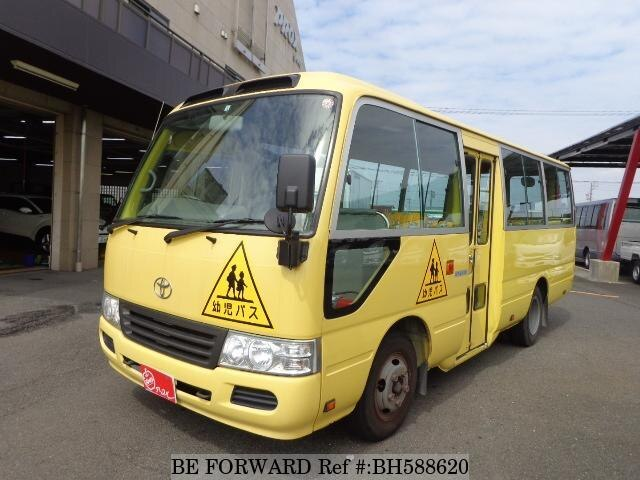 Used 2010 TOYOTA COASTER BH588620 for Sale