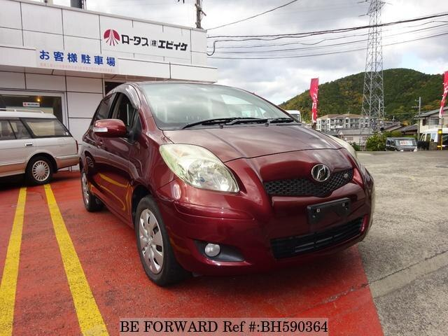 Used 2009 TOYOTA VITZ BH590364 for Sale