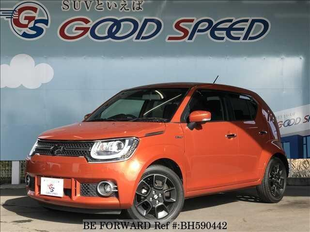 Used 2016 SUZUKI IGNIS BH590442 for Sale
