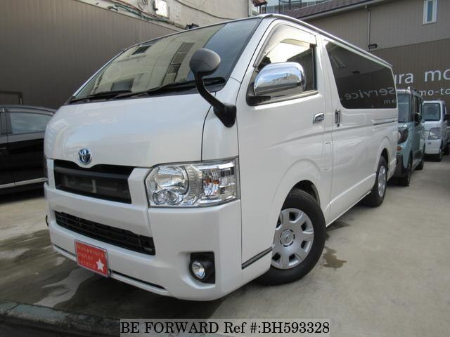 Used 2015 TOYOTA HIACE VAN BH593328 for Sale