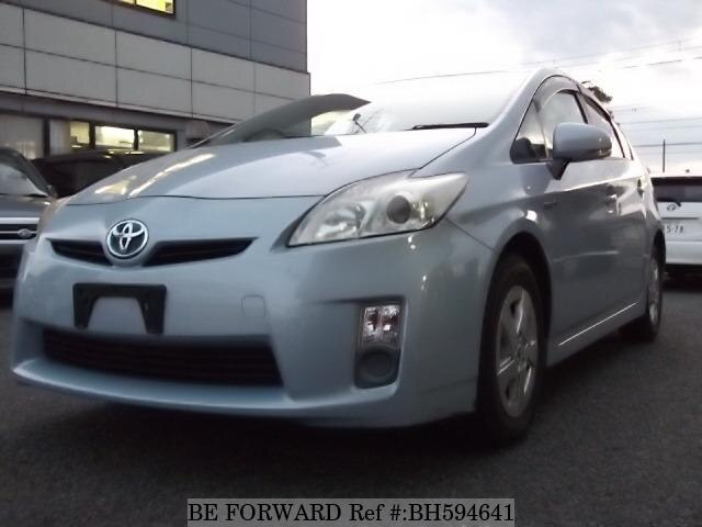 Used 2010 TOYOTA PRIUS BH594641 for Sale