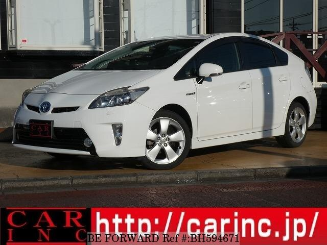 Used 2012 TOYOTA PRIUS BH594671 for Sale