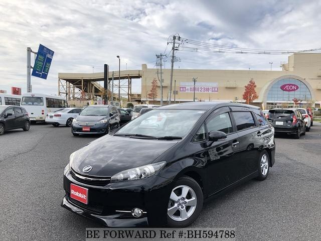 Used 2014 TOYOTA WISH BH594788 for Sale