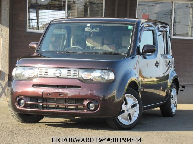 Used 2012 NISSAN CUBE BH594844 for Sale