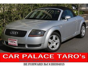 Used 2002 AUDI TT ROADSTER BH594915 for Sale
