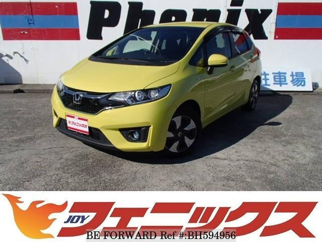 Used 2015 HONDA FIT HYBRID BH594956 for Sale