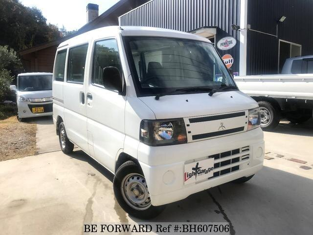 Used 2010 MITSUBISHI MINICAB VAN BH607506 for Sale