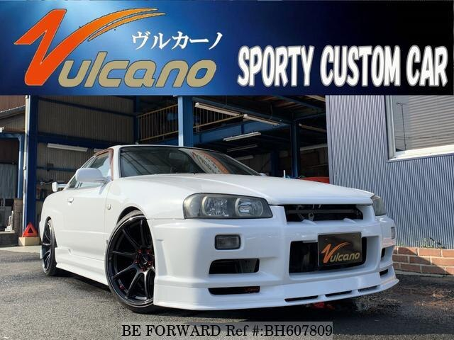 Used 1998 NISSAN SKYLINE BH607809 for Sale