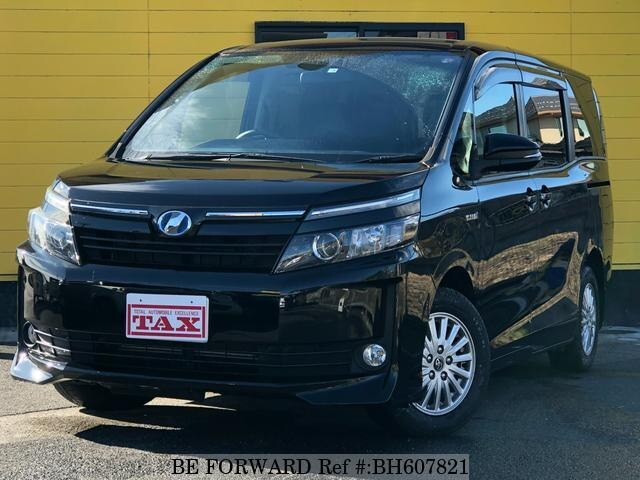 Used 2014 TOYOTA VOXY BH607821 for Sale