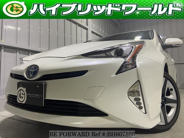 Used 2016 TOYOTA PRIUS BH607866 for Sale