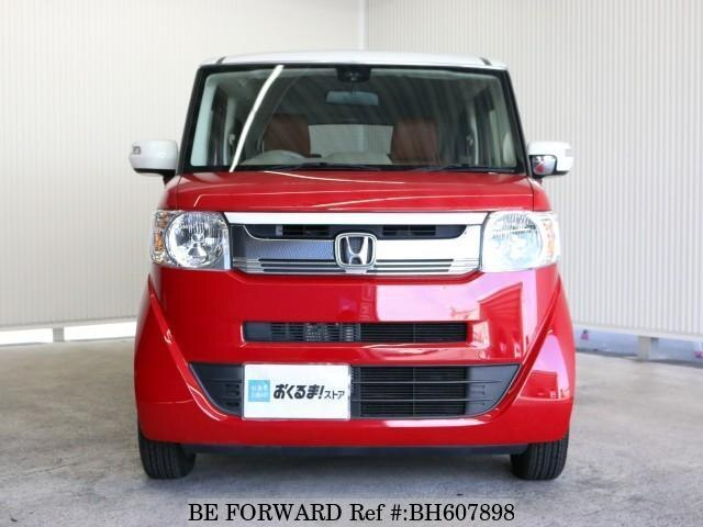 Used 2015 HONDA N BOX SLASH BH607898 for Sale