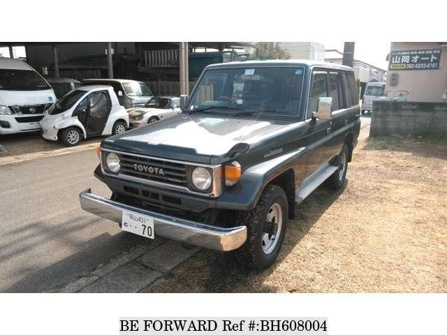 Used 1993 TOYOTA LAND CRUISER BH608004 for Sale