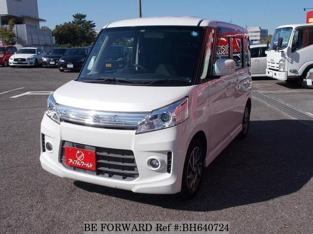 Used 2013 SUZUKI SPACIA BH640724 for Sale