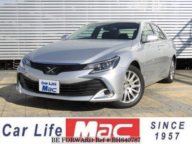 Used 2017 TOYOTA MARK X BH640787 for Sale