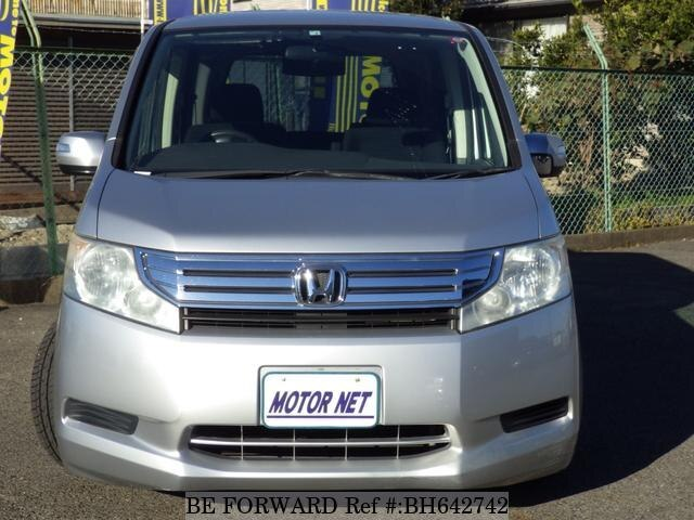 Used 2012 HONDA STEP WGN BH642742 for Sale