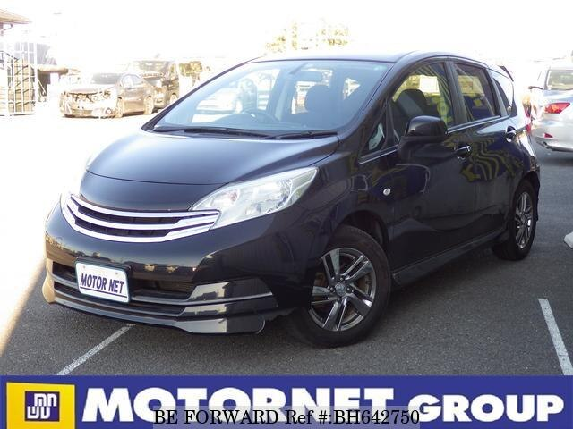 Used 2012 NISSAN NOTE BH642750 for Sale