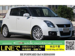 Used 2007 SUZUKI SWIFT BH643099 for Sale