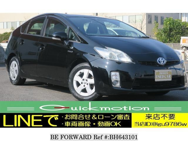 Used 2011 TOYOTA PRIUS BH643101 for Sale