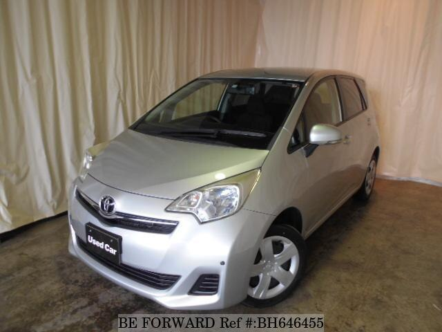 Used 2013 TOYOTA RACTIS BH646455 for Sale