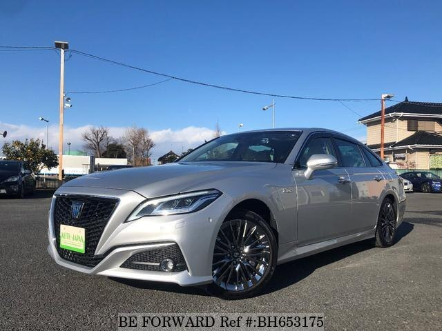Used 2018 TOYOTA CROWN HYBRID BH653175 for Sale