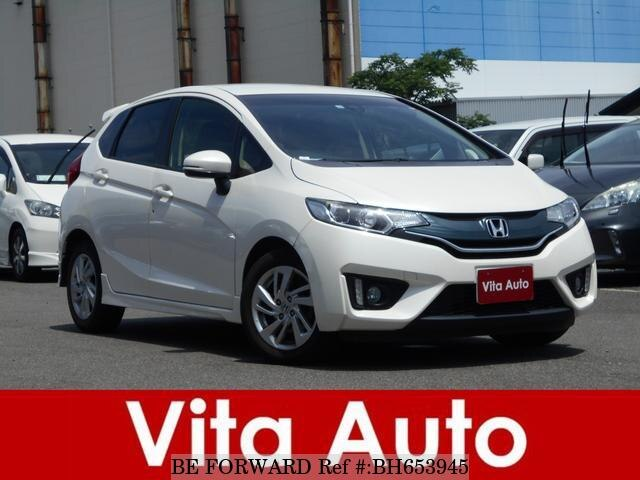 Used 2013 HONDA FIT BH653945 for Sale