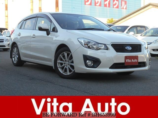 Used 2012 SUBARU IMPREZA SPORTS BH653999 for Sale