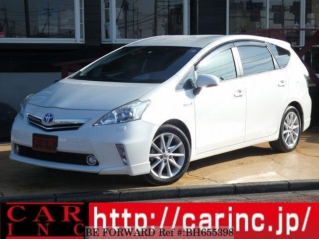 Used 2012 TOYOTA PRIUS ALPHA BH655398 for Sale