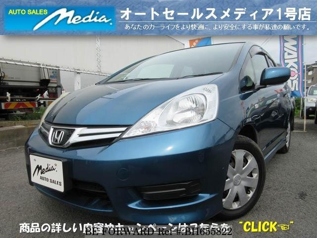 Used 2011 HONDA FIT SHUTTLE BH655822 for Sale