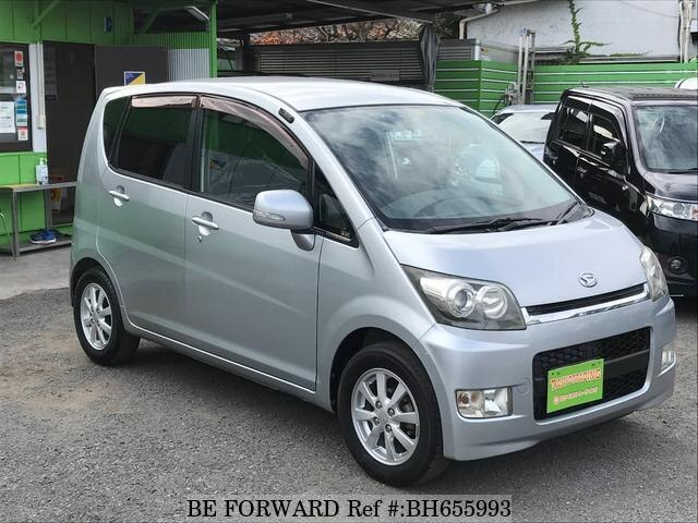 Used 2008 DAIHATSU MOVE BH655993 for Sale