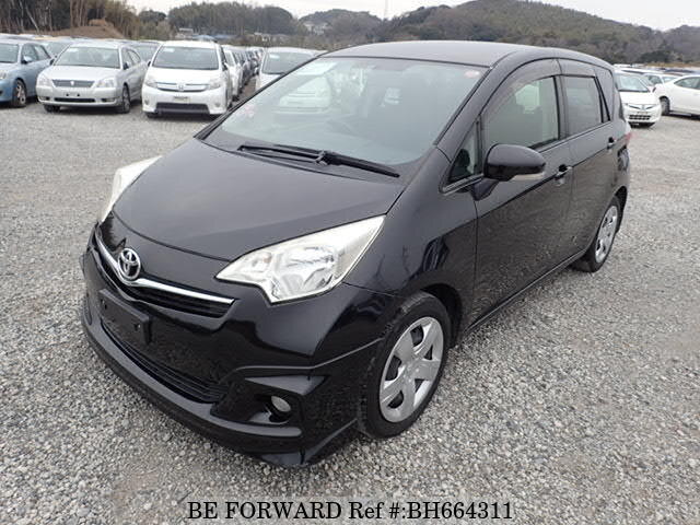 Used 2012 TOYOTA RACTIS BH664311 for Sale